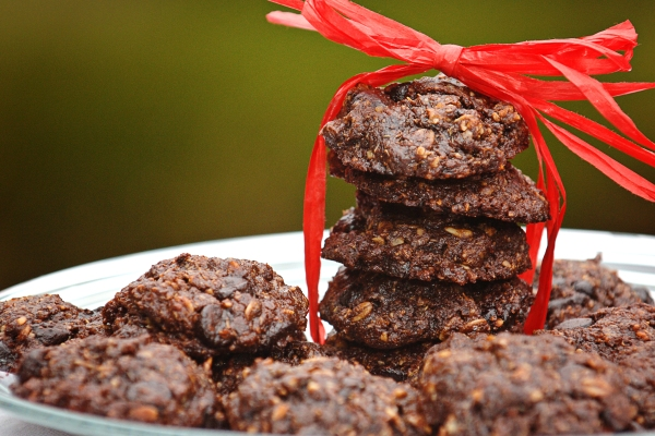 Rich Chocolate Valentines Day Cookies